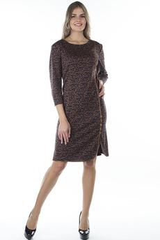 Коричневое повседневное платье Bast со скидкой